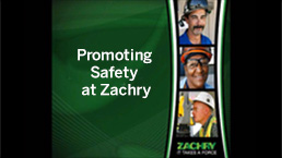 Promoting Safety at Zachry Group